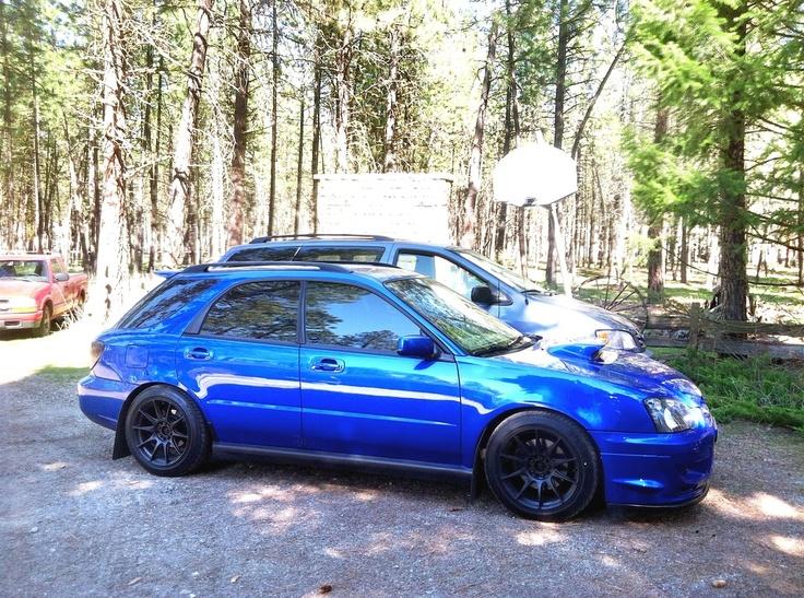 Subaru Santa Monica >> XXR 527 8.25x17 +35 w/ 225/45/17 tires on a WRX wagon ...