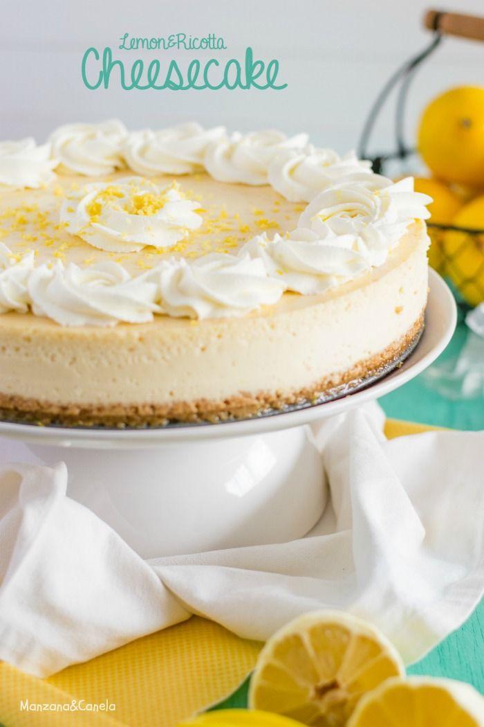 Cheesecake de limón y ricotta