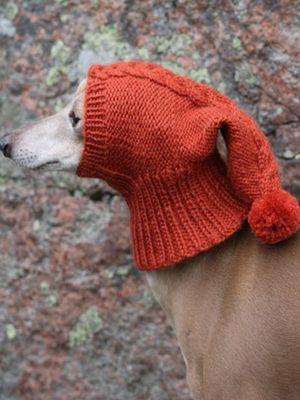 Koiran neulottu kypärämyssy Novita 7 Veljestä   Novita knits
