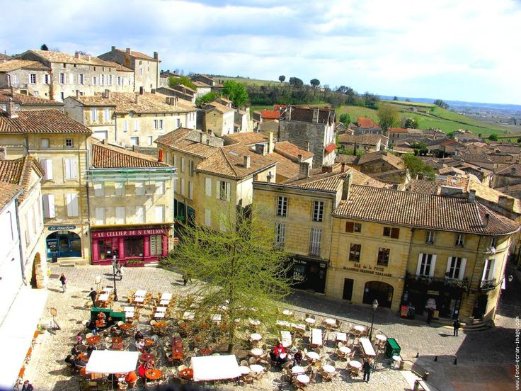 Bordeaux - This is St. Emillion, outside of Bordeaux.  The cutest town with lots of wineries.