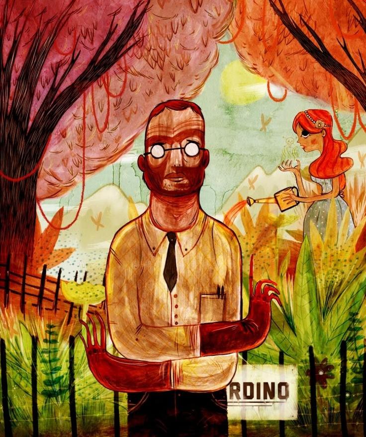 El botánico. Painting, Poster, Art
