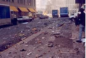 Human remains and lots of debris from 9/11