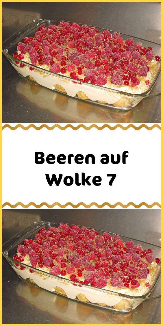 Beeren auf Wolke 7   – Kuchen & Torten Rezepte