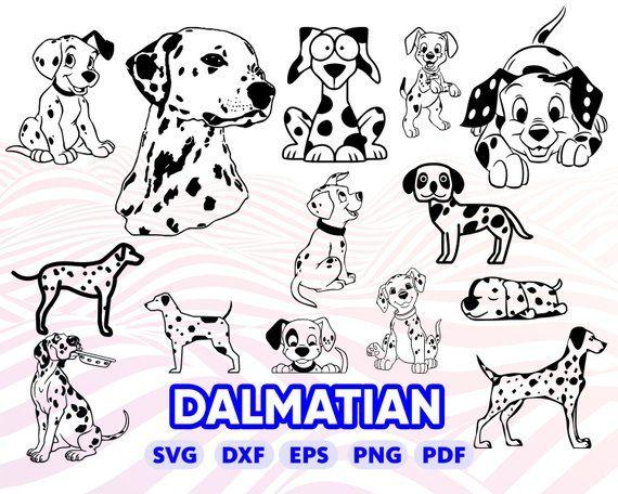 Dalmatian SVG Dalmatian Font SVG Digital Download Dog Svg Font Svg Dog Font Svg 101 Dalmatians Font SVG Dalmatian Alphabet Svg
