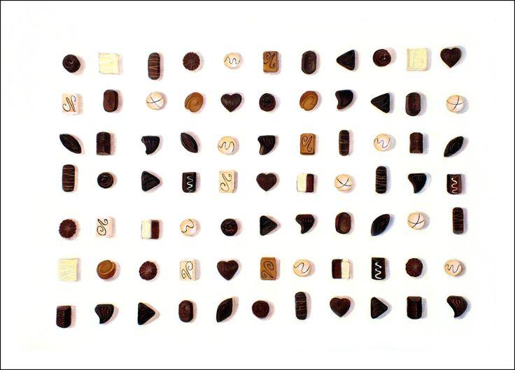 Ciasteczka z galaretką , akryl na płótnie w WIOLLETE na DaWanda.com