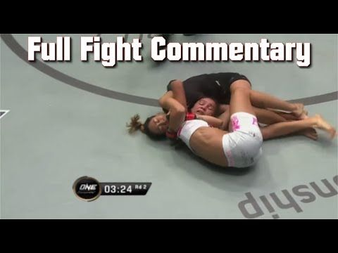 ONE FC 55 | Angela Lee vs Istela Nunes Full Fight ONE Championship: Dyna...