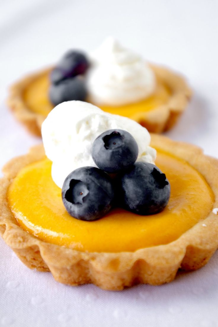 These Peas are Hollow: Mango Curd Tartlets