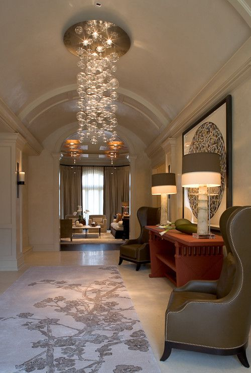 Love the chandelieri private residence contemporary entry dc metro jim tetro