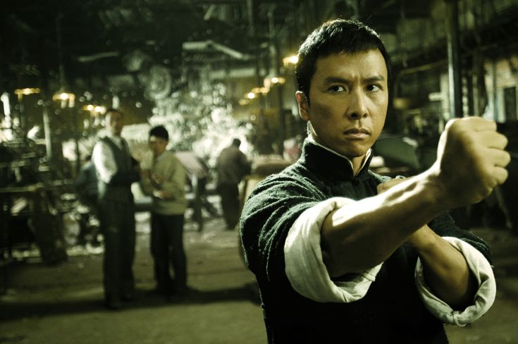 Donnie Yen (portraying Yip Man in this photo) - is a Hong Kong-based Chinese martial artist, film director and producer, action choreographer, and world wushu tournament medalist.