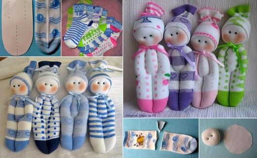 Návod na výrobu jednoduché panenky