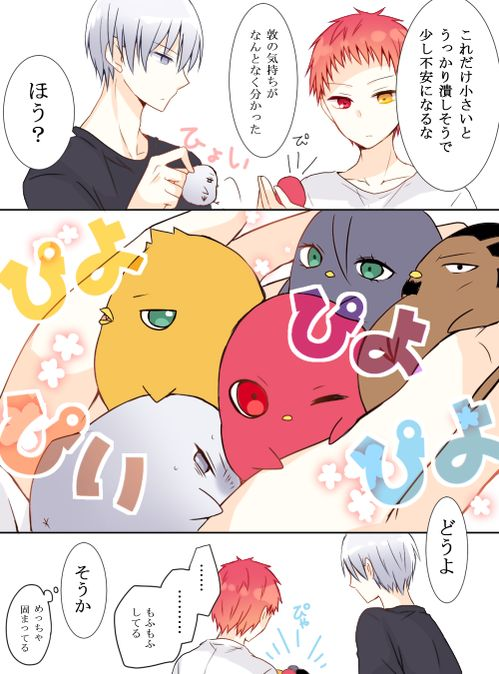 Rakuzan High 洛山高校 Rakuzan Kōkō, Mayuzumi Chihiro, Hayama Kotaro, Akashi Seijuuro, Mibuchi Reo, Eikichi Nebuya