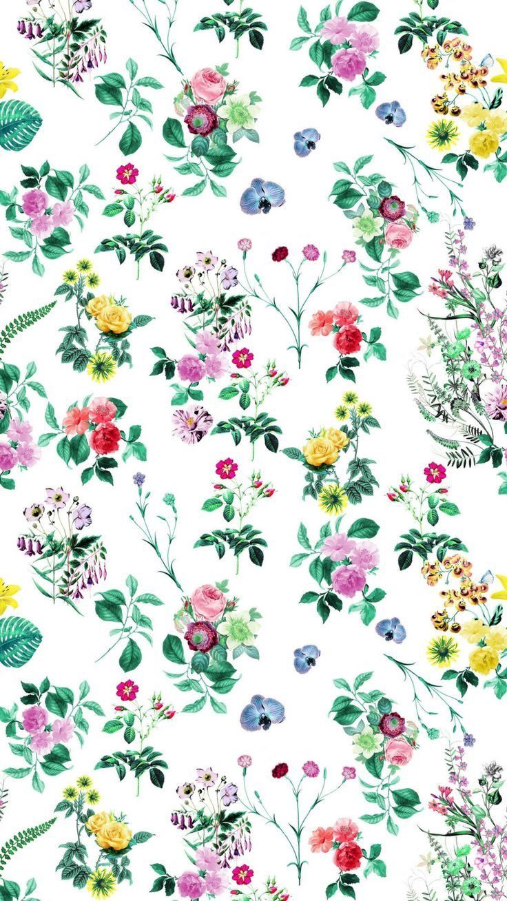 Pin By Katie Fairchild On Beautiful Collection Floral Iphone Background Floral Wallpaper Preppy Wallpaper