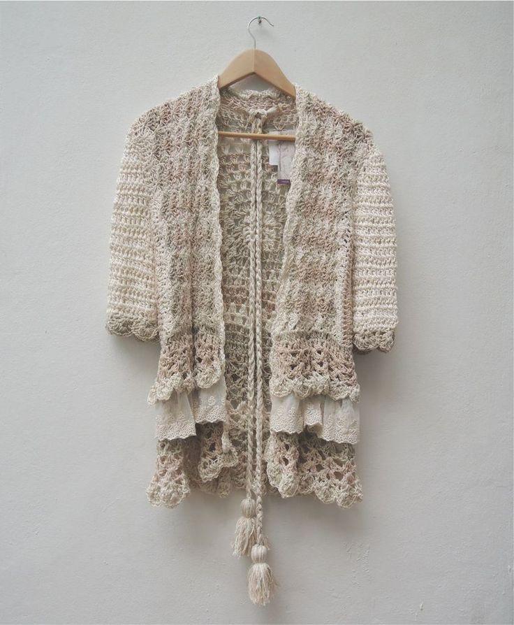Saco lana e hilo - Comprar en PAULA Y AGUSTINA RICCI