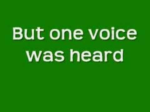 Billy Gilman - One Voice (Lyrics) - YouTube