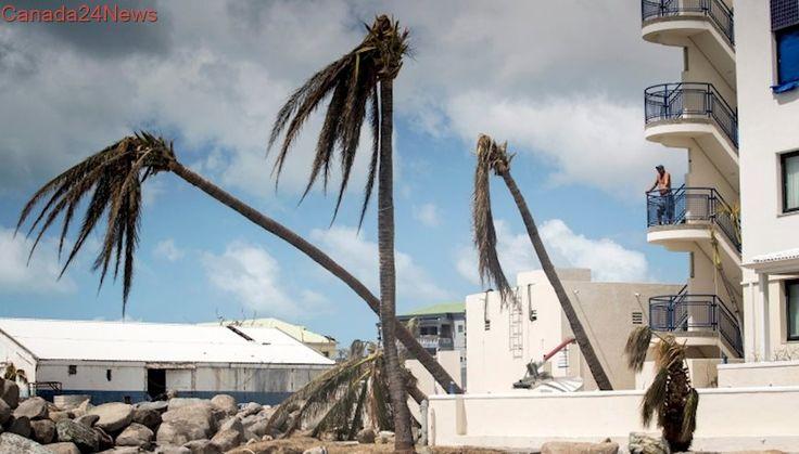Canadian airlines suspend winter flights to hurricane damaged St. Maarten
