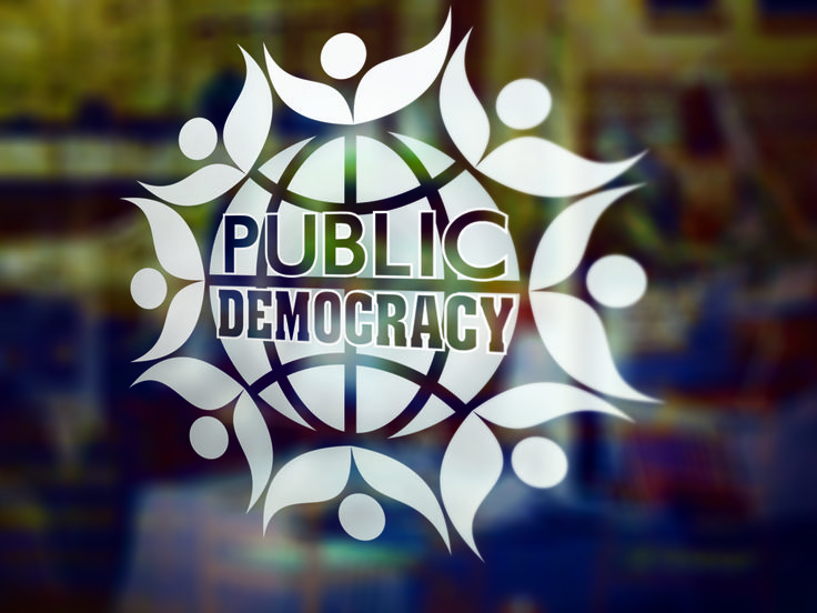 Open the door to a new improved democracy with the Public-Democracy App for smart devices which allows real time responsive connection between politicians and people.