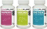 Pure Raspberry Ketones, Garcinia Cambogia & Detox DX-10® Colon Cleanse Diet Pills, Weight Loss Multi-Saver Trio Pack | 1 Month Supply | Innopure® - http://trolleytrends.com/health-fitness/pure-raspberry-ketones-garcinia-cambogia-detox-dx-10-colon-cleanse-diet-pills-weight-loss-multi-saver-trio-pack-1-month-supply-innopure