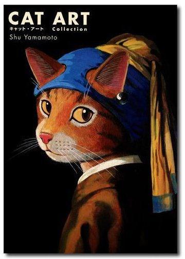 A Mona Lisa, de Leonardo da Vinci (1452 – 1519), se transformou em Gatalisa. A Vênus, de Sandro Botticelli (1445 – 1510), ganhou uma versão felina. Até A Criação de Adão, de Michelangelo (1475 – 1564), não escapou do processo de bichanização. O artista plástico japonês Shu Yamamoto é o cara por trás dessas metamorfoses...