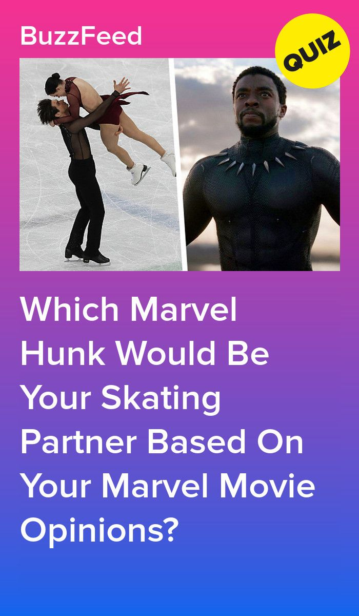Which Marvel Hunk Would Be Your Skating Partner Based On