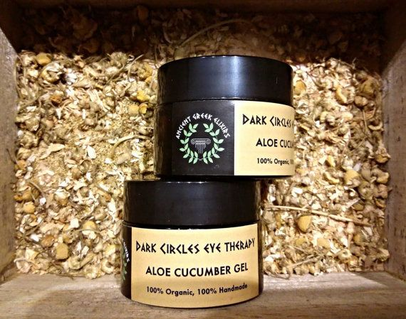 INSTANT DARK EYE circles therapy aloe cucumberaloe from