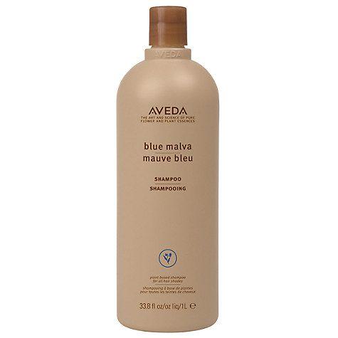 Buy AVEDA Color Enhance Blue Malva Shampoo, 1000ml Online at johnlewis.com