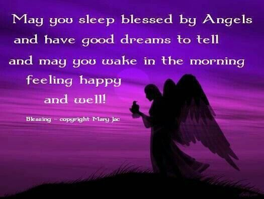Good Night Blessings Images And Quotes: May You Sleep Blessed - Good Night