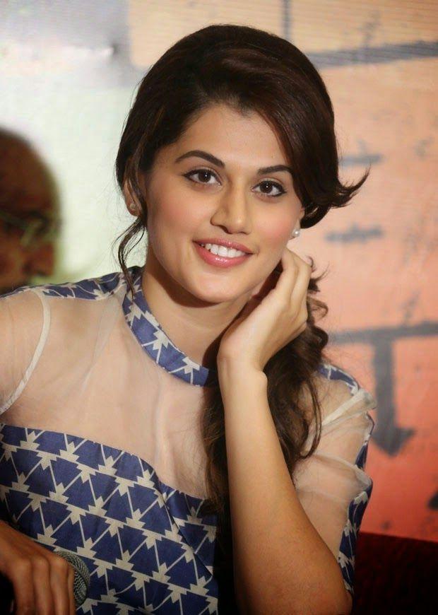 Actress Tapsee Pannu Latest Baby Hindi Movie Press Meet -1742