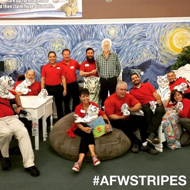 SHOW US YOUR STRIPES And You Could Win A $300 Gift Card To American  Furniture Warehouse