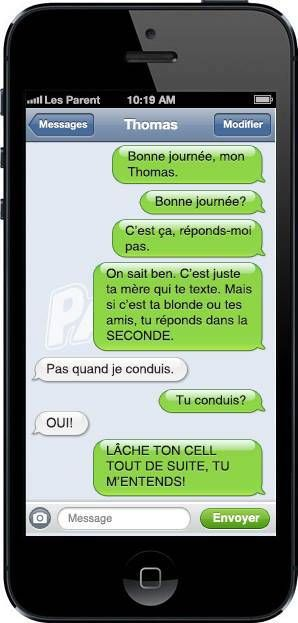 Learn French vocab from a funny text message exchange (#817) | OffQc | Quebec French Guide