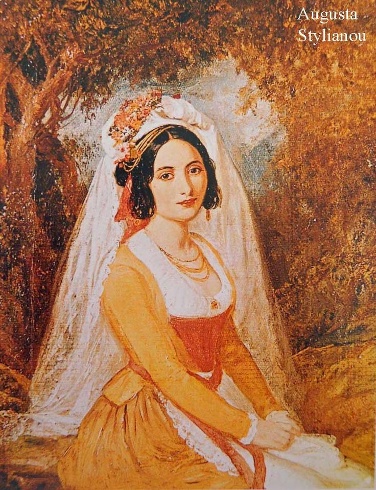Theodoros Vryzakis, Woman from Corfu, Photo : Augusta Stylianou Artist