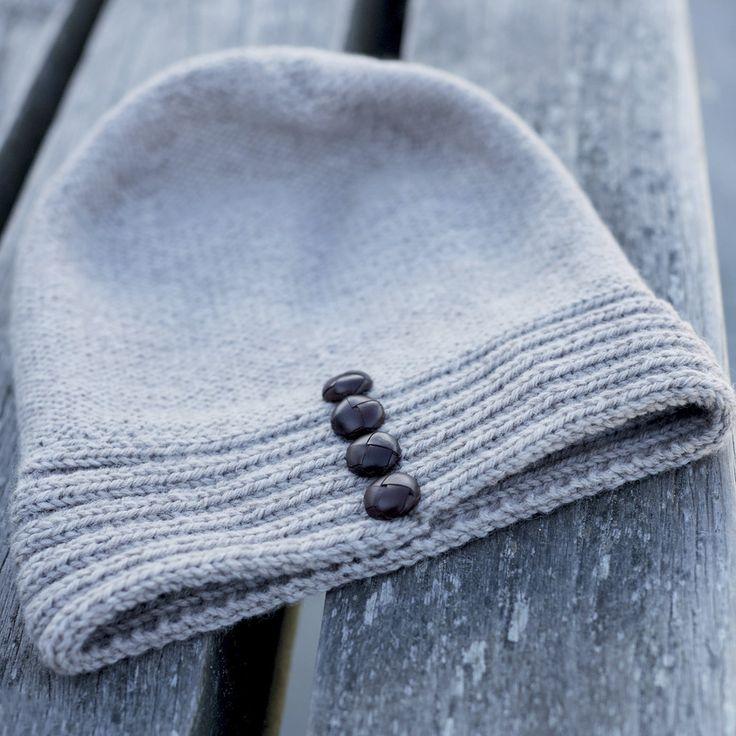 Описание вязания на спицах шапочки на кашпене из журнала «Burda. Creazion» №5/2015