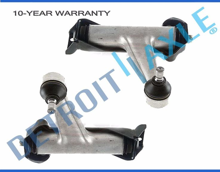 Pair (2) NEW Front Upper Control Arm & Ball Joint - Mercedes S320 S350 S500 S600 #DetroitAxle #Mercedez #Benz #Detroit #Automotive