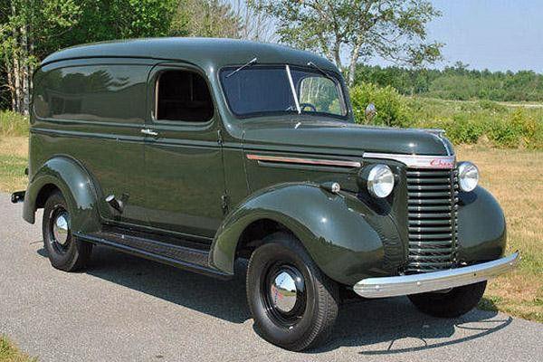 1940 Chevrolet Suburban Cargo Van.....very basic ...
