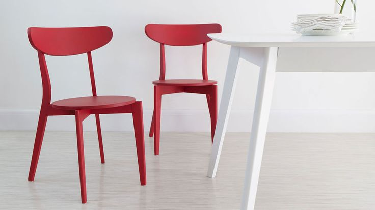 Red Dining Chairs UK - danetti
