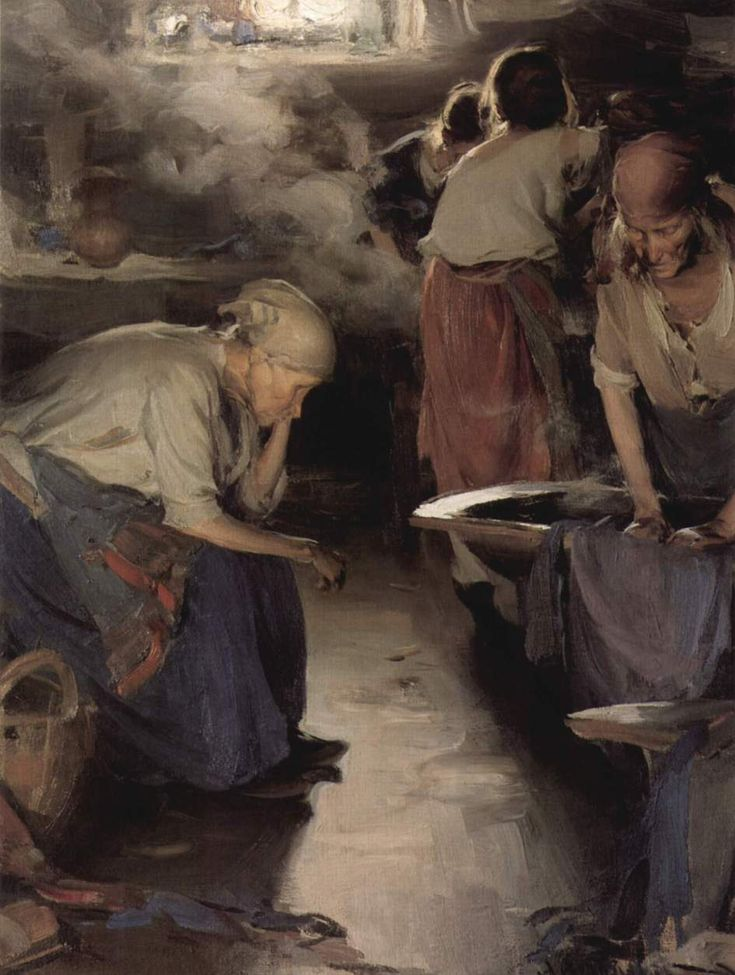 """The Washer Women"" (2nd version) 1901 