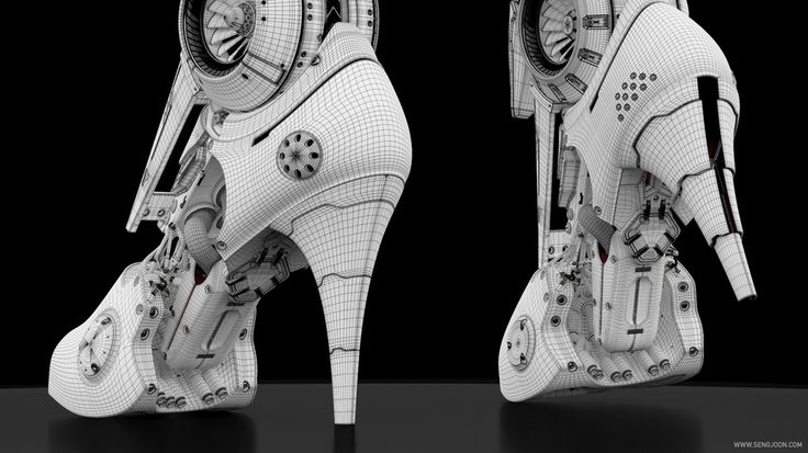 Artemis -Cybernetic Organism- by Sengjoon Song | Robotic/Cyborg | 3D | CGSociety