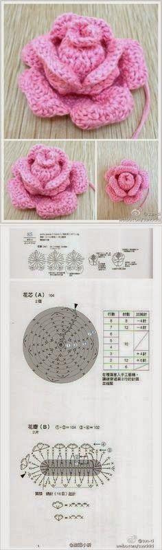 MiiMii - artigianato per mamma e figlia: Magia crochet-ispirazione, punti e modelli per tutti..