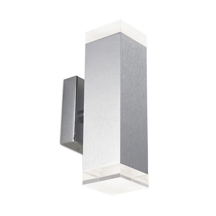 Applique Alma 2 LED aluminium