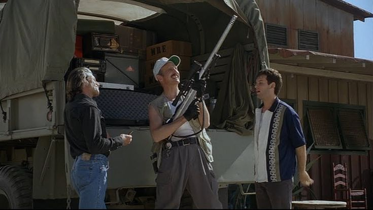Burt Gummer is a fictional character, played by actor Michael Gross, from the Tremors film series and the short lived SciFi Channel TV program of the same name.