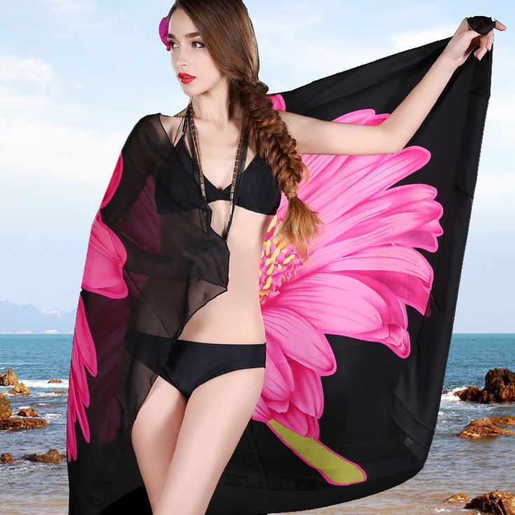 Find More Scarves Information about Summer wholesale Korea new Bikini scarf Chiffon veil beach swimsuit beach towel factory direct sun,High Quality towel cake,China towel bamboo Suppliers, Cheap towel salon from Morgan's Shop on Aliexpress.com