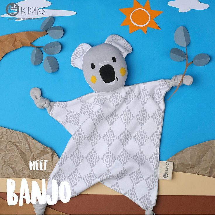 Koala cuddles sound perfect to us here at Young Willow. New tribe member Banjo Kippin will be headed our way before long. Excited to stock this organic comforter and absolute cutie.