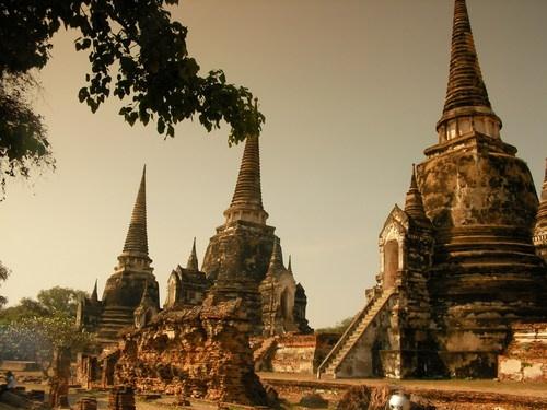 ☆Ayutthaya (Wat Phra Si Sanphet)☆ #Thailand #WorldHeritage