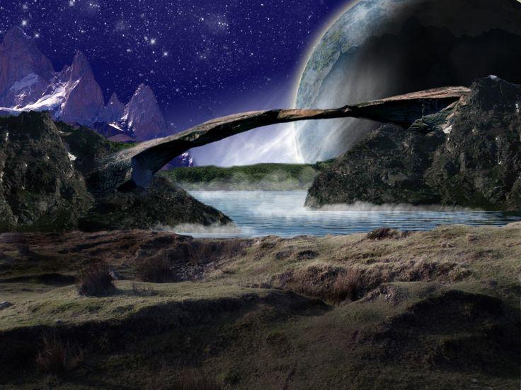 24 best alien planets images on pinterest paisajes for Outer space landscape