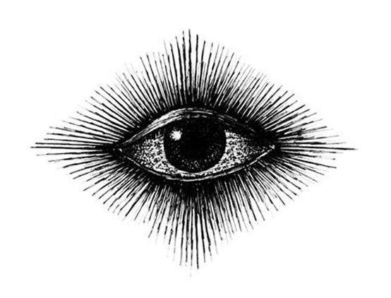 the eye ~ old engraving