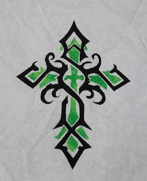 Tribal Celtic Cross Pattern available!