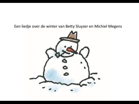 Liedje: Winter- van de cd Circus Pindakaas Betty Sluyzer