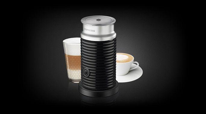 Med mjölkskummaren Nespresso Aeroccino Svart, designad i snygg retrostil, kan du göra det mesta av dina kafferecept. Köp Aeroccino online på Nespresso!