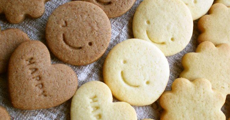 サクサク♪ホロッと♪美味しく♪型が抜きやすいクッキー生地。バレンタイン・プレゼント・おやつ・おもたせ♡