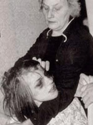 Mother restraining Anneliese Michel