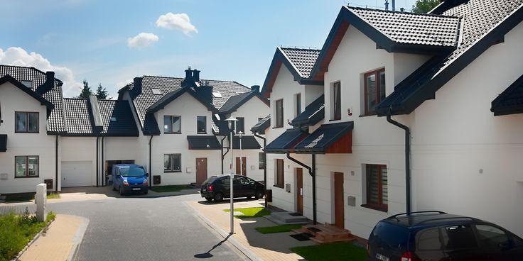 Osiedle domów jednorodzinnych przy ul. Oriona (Warszawa)